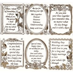 Wedding card sayings messages bridal shower 26 New ideas Wedding Card Verses, Wedding Shower Cards, Wedding Verses, Verses For Cards, Wedding Anniversary Cards, Wedding Card Messages, Bridal Shower, Boss Birthday Quotes, Birthday Verses