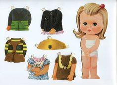 Nuevos recortables de muñecas. - Manualidades a Raudales