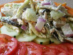 Rainbow Chicken Salad...the Best food Ever!!