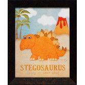 Found it at Wayfair - Artistic Reflections Stegosaurus Framed Art