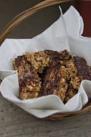 Simone's Foods: Peanut Butter Granola Bars