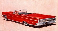 Plan59 :: Classic Car Art :: Vintage Ads :: 1959 Lincoln