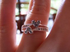 If this is not my wedding ring, I will not accept the proposal. I mean really, a Mickey Mouse engagement ring!? What's better?! | My Souvenier by Lisa Kline1 on Flickr.