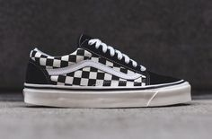 e861f8e2cc8 Vans Old Skool 36 DX Black Checkerboard - Sneaker Bar Detroit Sneaker Bar