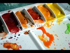 Tips for Using Your Watercolor Palette - YouTube