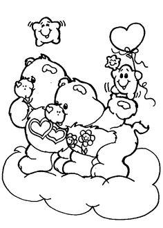 Care Bears Love a Lot Hugs Coloring
