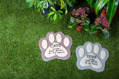 Pets Leave Paw Prints Resin Garden Stone Collection – GreaterGood