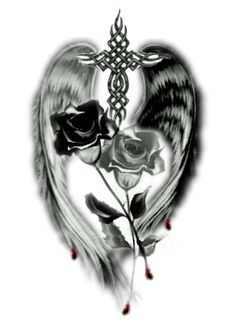 Image detail for -Tattoodesign-complete.jpg Dark Angel Designs