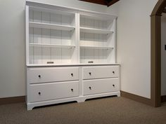Shaker Home Entertainment & Bookcase Sectional System - Shaker Shoppe
