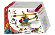 Through Build 5 Engino Engineering Models, children can make a helicopter, sea-plane etc.