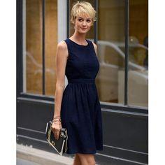 Sukienka zhaftem angielskim, 100% bawełny LAURA CLEMENT