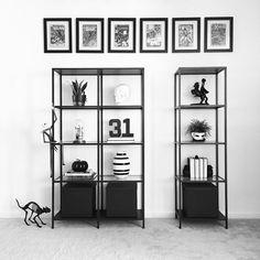 See this Instagram photo by @vee.zel  • Halloween decor | Halloween decorating | Minimalist Halloween | Shelfie | Shelf styling | Shelf decor | Home decor | Nordic decor | Nordic inspiration | Black and white | Modern decor | IKEA Vittsjö shelves | Comic Books | Nerd decor | Monochrome | Skull decor | Sleepy Hollow | Kähler Omaggio