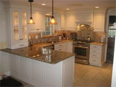 Eric Street Kitchen, Merrimack - traditional - kitchen - manchester NH - by Granite State Cabinetry
