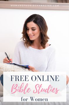 Dozens of free online Bible studies for women to help you grow closer to Him and His Word. Whether you are a new believer or seeking to know Him more, you will find a study that will help you in your walk. Online Bible Study, Bible Study Tips, Christian Women, Christian Faith, Christian Living, Faith In God, Faith Bible, Bible Studies For Beginners, Biblical Marriage
