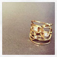 14k gold Zadoff ring