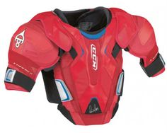 New CCM Pro GR8-Ovi hockey shoulder pads men's 'Ovechkin chest' red