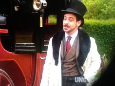 """I believe this outfit is by Ralph Lauren. Emun Elliott as John Moray in """"The Paradise"""" on Masterpiece Classic (PBS)"""