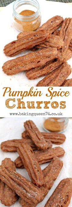 Pumpkin Spice Churros