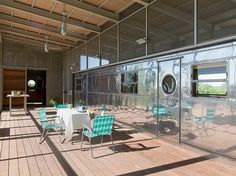 Locomotive Ranch Trailer by Andrew Hinman Architecture Uvalde Texas I love everything about this home