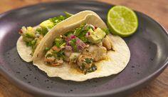 Prawn and Avocado Taco - Good Chef Bad Chef
