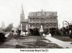 """Margaret's Baby House. This institution is at the corner of Magazine and Race Streets, New Orleans, LA. It is run by the Sisters of Charity. It is a foundling asylum, for """"200 children, infants in arms and babies just beginning to walk."""" Motherless or abandoned babies are not turned away..."""