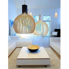 Buy Secto Octo Ceiling Light, Birch Online at johnlewis.com