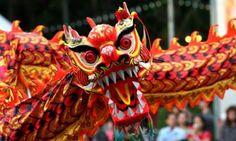 #Chinese #dragon, #colorful #China