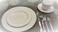Dinnerware- Dinner Plates - Salad Plates - Dessert Plates Coffee & Tea Cup w/ Saucer