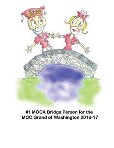 MOCA Bridge Person