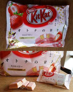 Strawberry Adult Sweetness Kit Kat from Japan