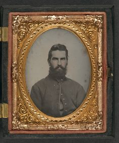 Un soldat de l'Union inconnu (1861-1865, Library of Congress, Washington D.C.)