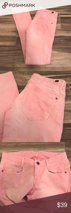G Star Raw Bubblegum Pink Skinny Jeans These bubblegum pink jeans from Gstar raw are adorable. Size 28x32. Great condition, only washed one time. G-Star Jeans Skinny