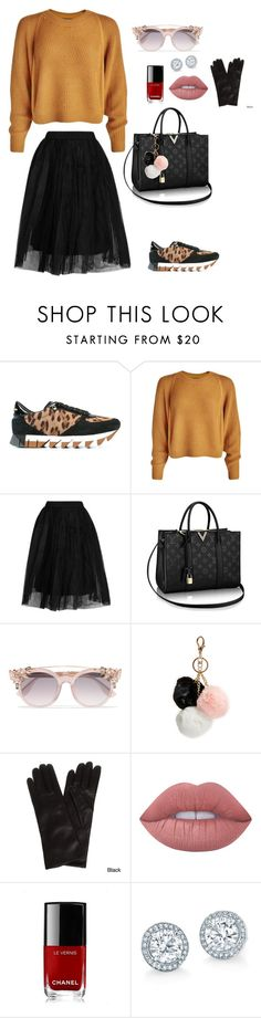 """""""Untitled #764"""" by einatv ❤ liked on Polyvore featuring Dolce&Gabbana, Topshop, Jimmy Choo, GUESS, Portolano, Lime Crime and Chanel"""
