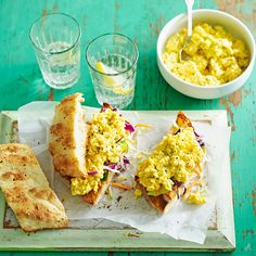 Toasted curried egg sandwich | Healthy Recipe | Weight Watchers AU