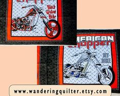 Fabric quilts quilted product and printable by WanderingQuilter Harley Davidson Fabric, Printing Services, Online Printing, Quilt Display, Printable Pictures, Dora The Explorer, Fabric Panels, Digital Prints, Etsy Seller