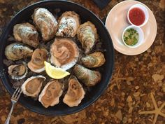 5 places you should eat at on the OBX - A selection of oysters from Coastal Provisions Oyster Bar & Wine Cafe