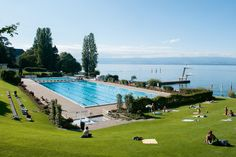Evian les Bains Evian Les Bains, Nordic Skiing, Ski Holidays, French Alps, Swimming Pools, Golf Courses, France, Activities, Architecture