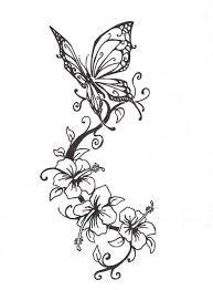 Image result for dibujos de mariposas para tatuajes