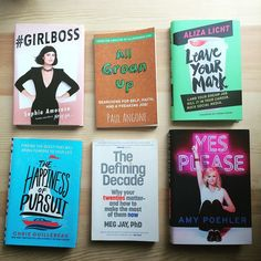 Six of our favorite books to help you through your quarter-life crisis!