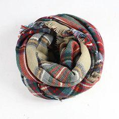 Fashionwu Lady Girl Large Tartan Scarf Wrap Shawl Neck Stole Warm Plaid Checked Pashmina Multi Color Fashionwu http://www.amazon.co.uk/dp/B00O7IDYA4/ref=cm_sw_r_pi_dp_LobRub1R7AB8M