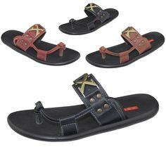 Mens Slip On Slippers Beach Walking Summer Casual Fashion Flip Flop Sandal Size #KOLLACHE