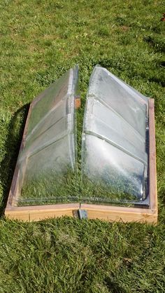 My window well DIY cold frame!