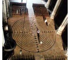 Chartres 14th century original 12 circuit labyrinth