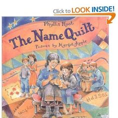 Amazon.com: The Name Quilt (9780374354848): Phyllis Root, Margot Apple: Books
