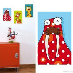 morse Painting For Kids, Art For Kids, Kids Canvas, Art Lessons Elementary, Art Challenge, Art Journal Inspiration, Business For Kids, Animal Paintings, Illustration Art
