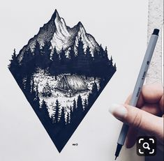 Illustration by wildwither (josefine svärd) unique creative Tattoo Sketches, Tattoo Drawings, Body Art Tattoos, Small Tattoos, Art Drawings, Drawing Art, Tatoos, Natur Tattoos, Stippling Art