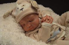 Adorable Reborn Baby Boy 20 inches long Reborned By : Deena Jarvis #RebornBaby