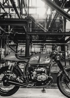 BMW Cafe Racer Motorcycle Exhibition in London Celebrates the Underground Custom Scene - Photography by Laurent Nivalle