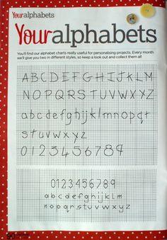 Your Alphabet from Cross Stitcher Magazine