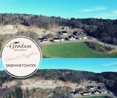 På husjakt? Grødum Boligfelt er et nytt boligfelt med ledige DRØMMETOMTER!
